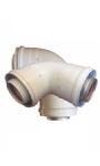 Vind hier de concentrische rookgasafvoer voor uw gesloten geiser | Rookgassen van uw binnengeiser op een veilige manier afvoeren met een rookgasafvoersysteem. | KIIP-BV.nl